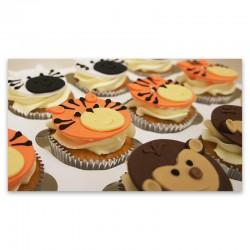 Vanilla Cupcakes - Animals