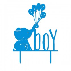 IT'S A BOY - acrylic cake...