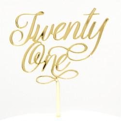 Twenty One / 21 acrylic...