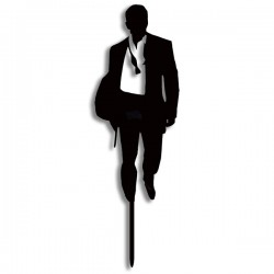 James Bond -  acrylic cake...