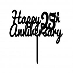 Happy 25th Anniversary cake...